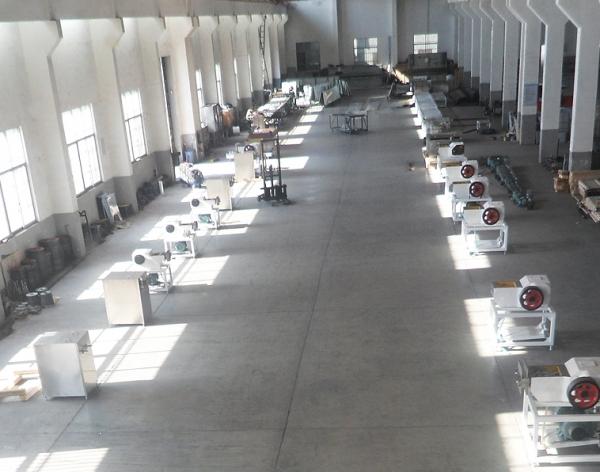 食品均质机厂房环境